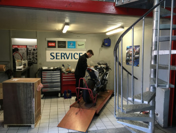 Atelier et service rapide